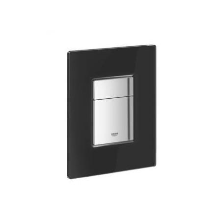 WC klavišas GROHE Skate Cosmopolitan juodas stiklas