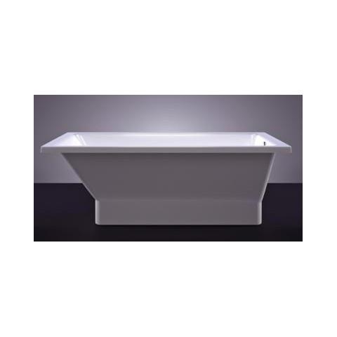 Akmens masės vonia VISPOOL ETTE 170x70 balta