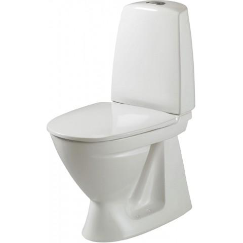 Pastatomas WC Ifo Sign, pajungimas vertikalus su lėtai nusileidžiančiu dangčiu