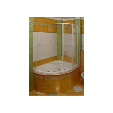 Vonios sienelė VSK2 ROSA 160P POLYESTER RAIN