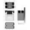 Rekuperatoriaus KOMPLEKTAS ComfoAir Q 350 ERV