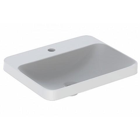 Praustuvas įleidžiamas VariForm 55 cm, stačiakampis, baltas