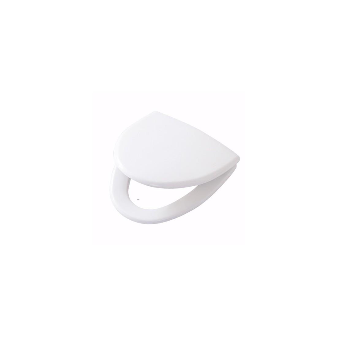 CERA kietas unitazo dangtis su soft close funkcija, lengvai nuimamas arba fiksuotas, baltas