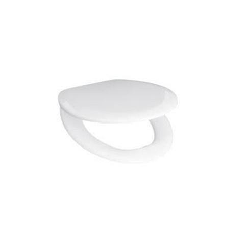 WC dangtis ZETA  , termoplastikas, plastmasiniai lankstai, baltas