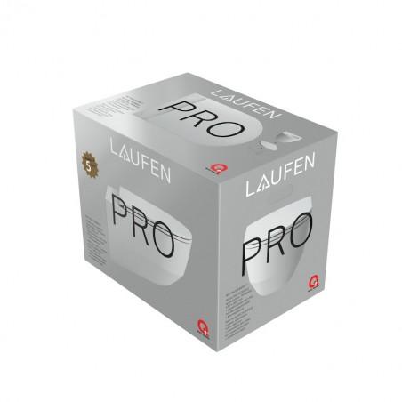 Pakabinamas unitazas Pro Rimless PACK su SLIM dangčiu (898966) be nuplovimo lanko (360x530x430 mm), baltas