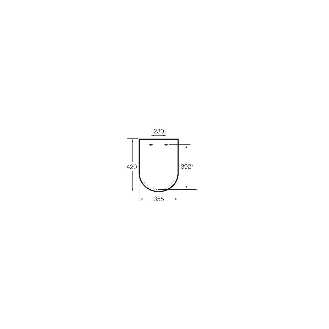 Unitazo sėdynė su dangčiu - Softclose, nerūdijančio plieno lankstai