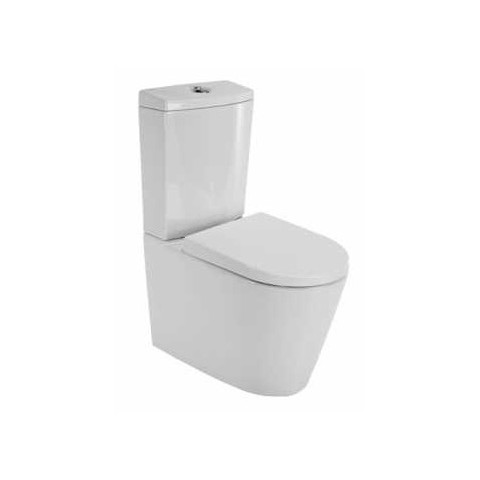 Kombinuotas unitazas Urby Plus su 3.6 l mech., su soft close dangčiu, baltas