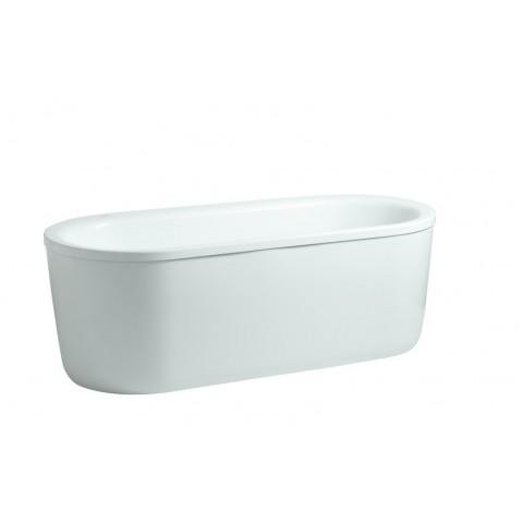 SOLUTIONS akrilinė vonia 170x75cm, su rėmu, su uždengimu, laisvai statoma