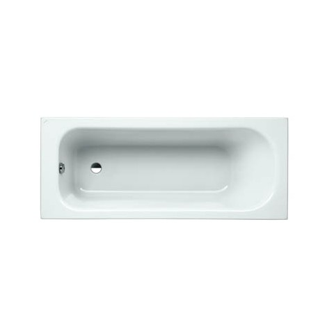 SOLUTIONS akrilinė vonia 170x70 cm, su rėmu, balta