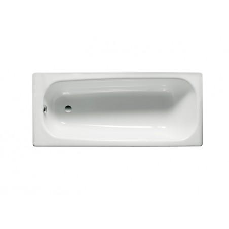 CONTINENTAL ketaus vonia 170 x 70 cm, antislip, balta