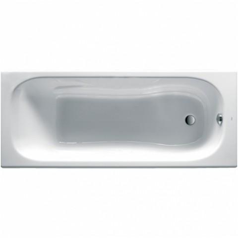 MALIBU ketaus vonia 170x75 cm  antislip, balta