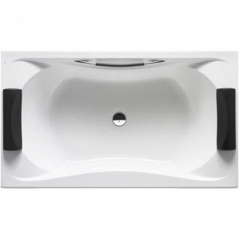 Dvivietė akrilinė vonia BeCool Biplaza  1900x1100 mm,su kojelėmis, balta