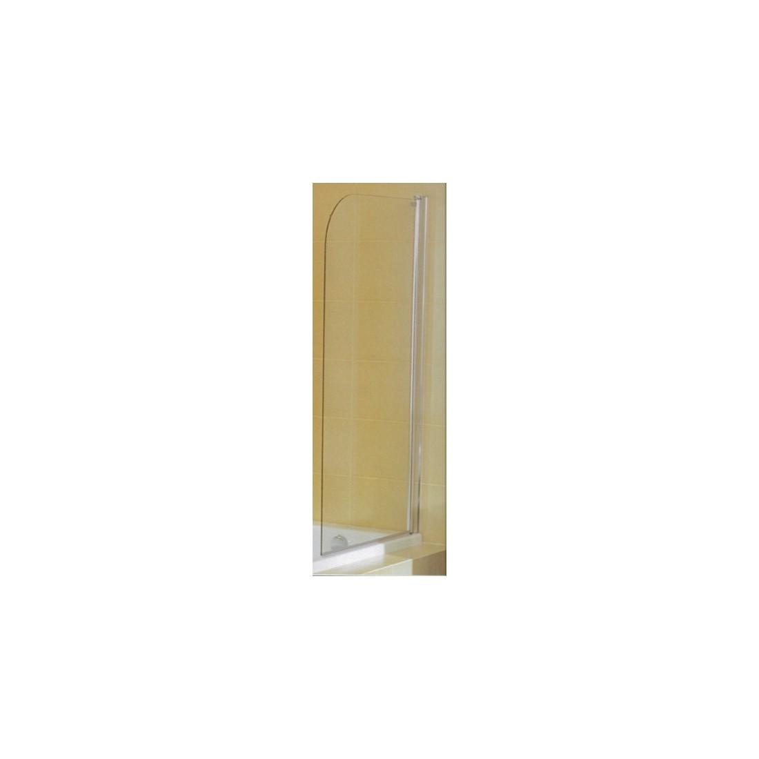 CUBITO vienos dalies vonios sienelė, skaidrus stiklas