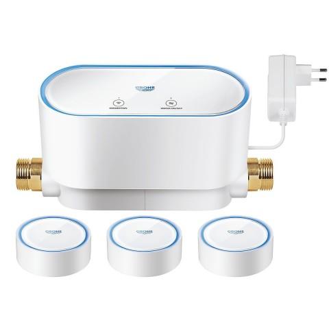 Grohe Sense rinkinys 1 x GROHE Sense Guard išmanusis vandens valdiklis + 3 x GROHE Sense smart jutikliai