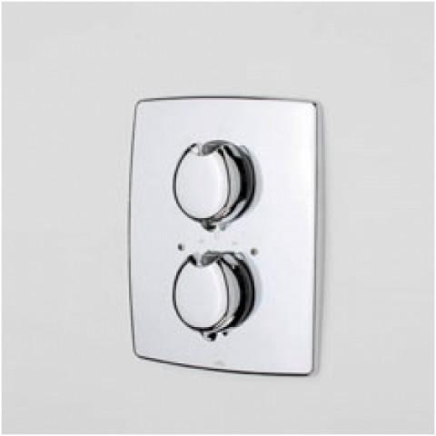 Potinkinio termostatinio dušo maišytuvo išorinė dekoratyvinė dalis Oras Optima