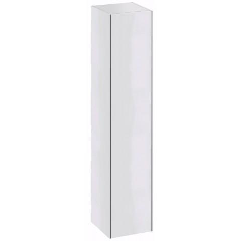 Aukšta spintelė Sense, 1695x300x366 mm, SHS 36, blizgi balta