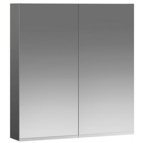 Veidrodinė spintelė Option OSSN, 60x64x12,7 cm, juodas grafitas
