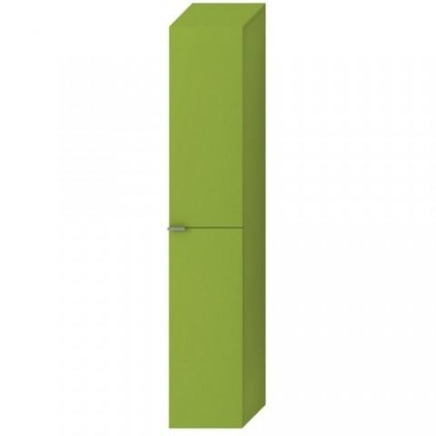 Gili aukšta spintelė TIGO, 4 stikl. lentynos, 2 durelės,kairinė/dešininė, žalia