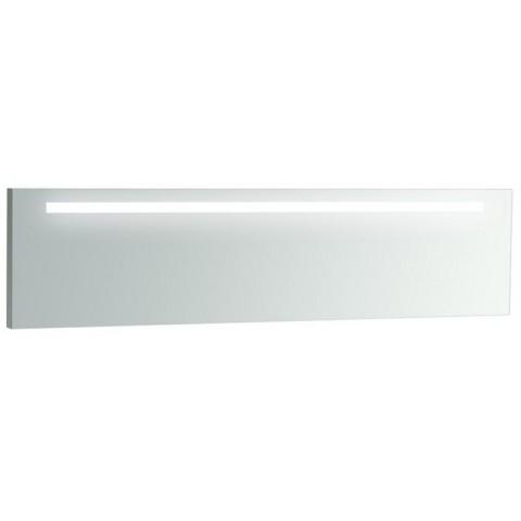 ALESSI ONE veidrodis 160x40 cm su apšvietimu, veidrodžio rėmu ir apsauga nuo rasojimo