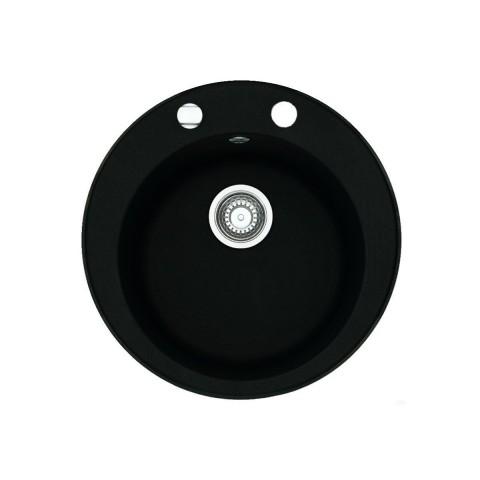 "Franke Plautuvė  ROG 610-41 onyx Ekscentrinis 3½"" ventilis"
