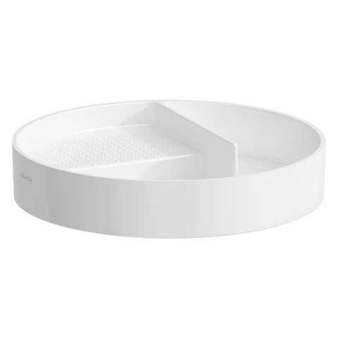 Apvalus padėkliukas VAL 325x325 mm, Saphir Keramik, baltas