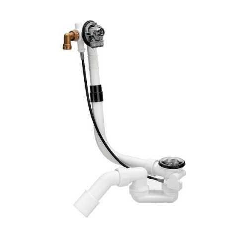 MULTIPLEX TRIO Vonios sifonas su vandens pripildymo sistema 40/50 (tinka 490683 dangteliai (gamyba iki2015))