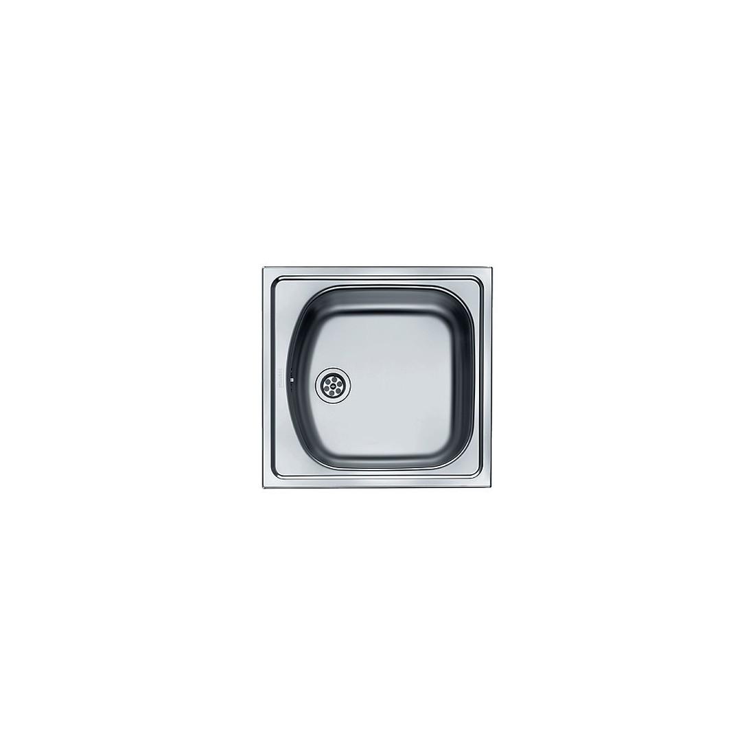 Plautuvė  ETN 610, 455x435 mm, nerūdijantis plienas