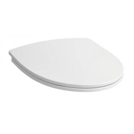 Sėdynė su dangčiu RIGO termoplastikas, balta