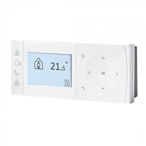 Progr. patalpos termostatas ir imtuvas TPOne-RF + RX1S RF, baterija maitinamas, radijo ryšiu valdomas