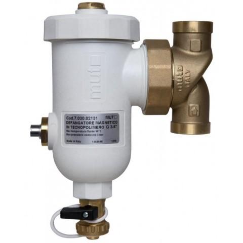 """Magnetinis šildymo sistemos filtras 3/4"""" / 3/4"""" KVS 10,4 montavimas tiesiai"""