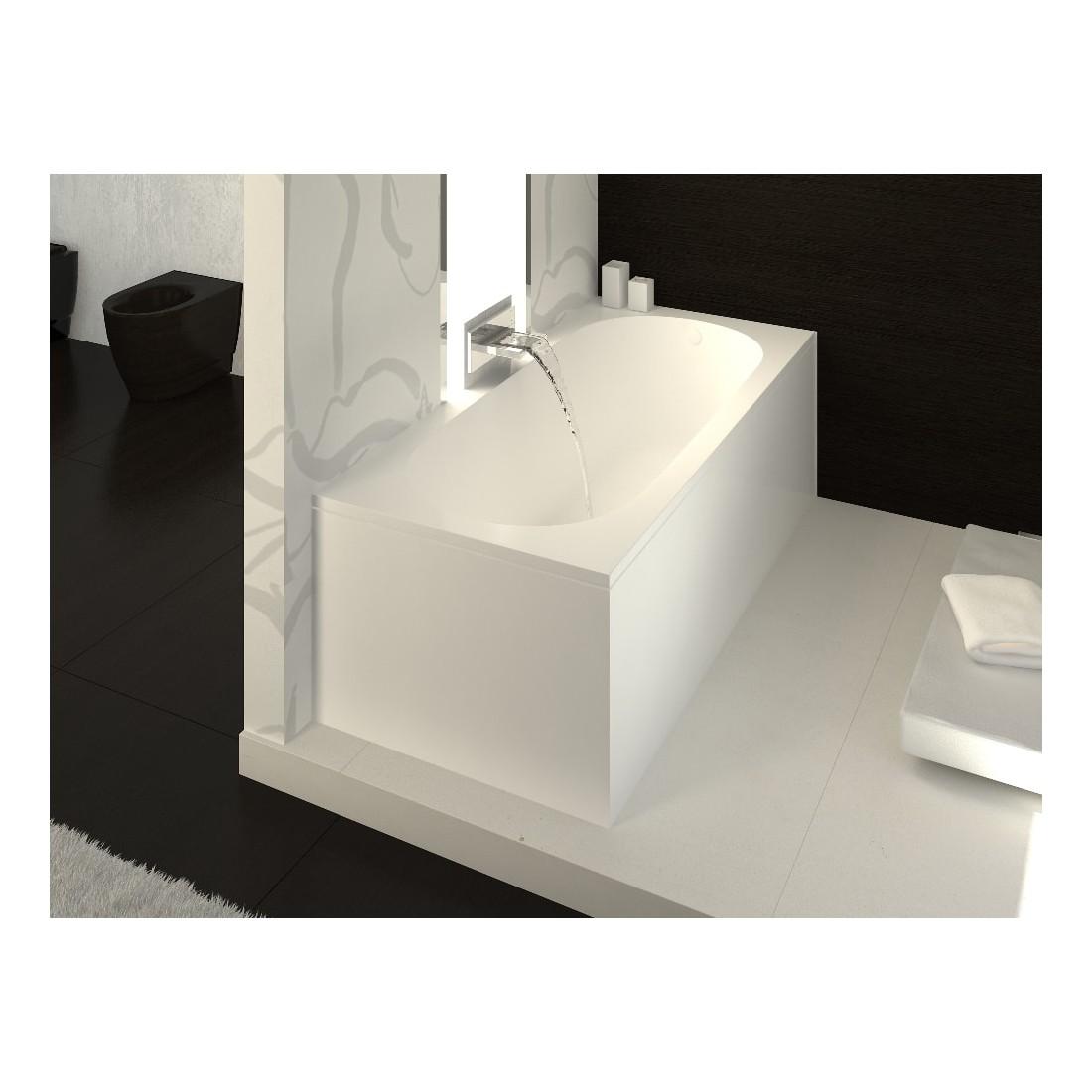 Akmens masės vonia Vispool Libero, 170x80