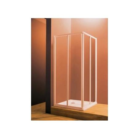Dušo durys (kampas) Ravak SRV2, 90 cm, Transparent