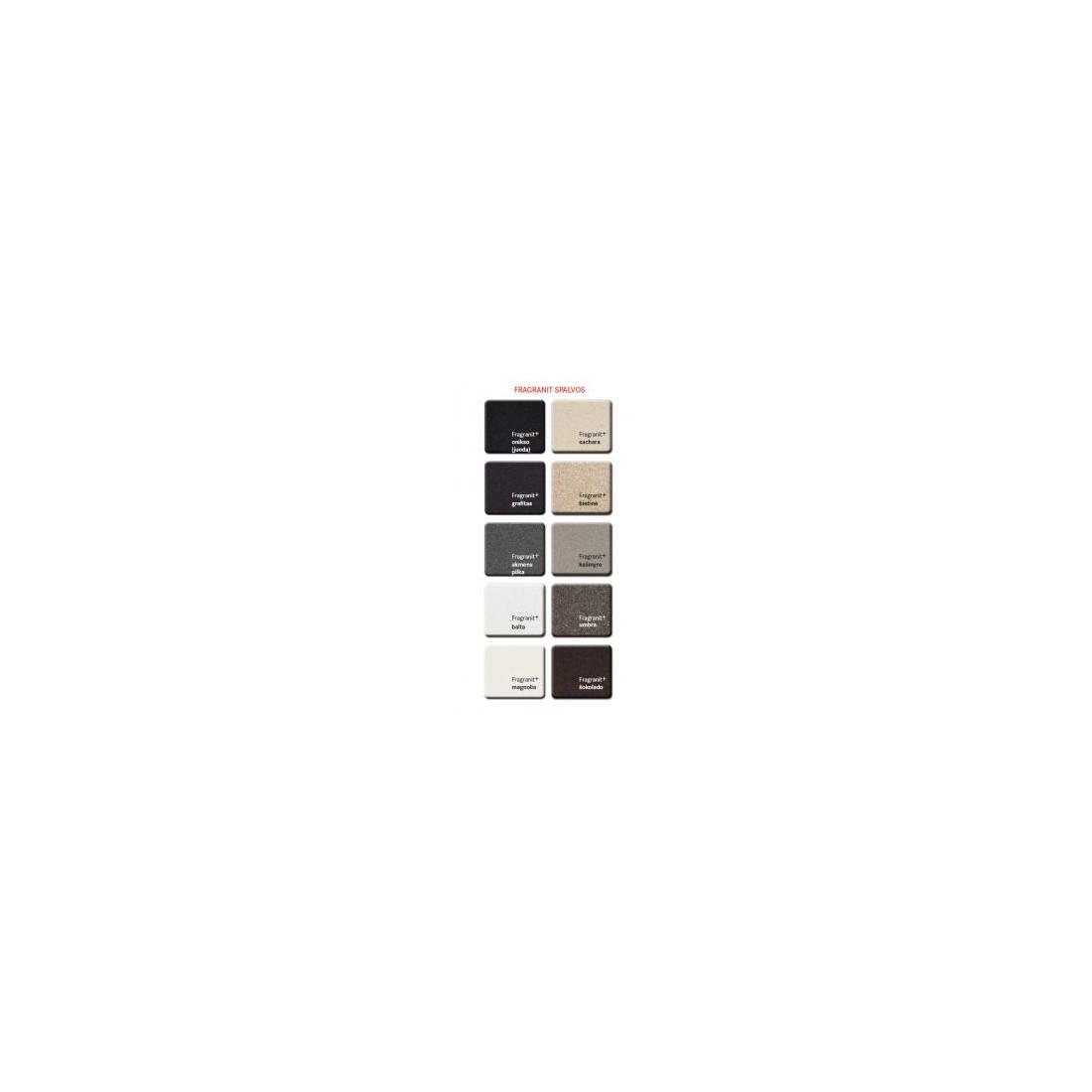 Akmens masės plautuvė Franke Strata, STG 614-78, Cashmere, ekscentrinis ventilis