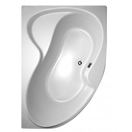 Akrilinė asimetriška vonia Ravak Rosa II, 160x105 cm, dešininė