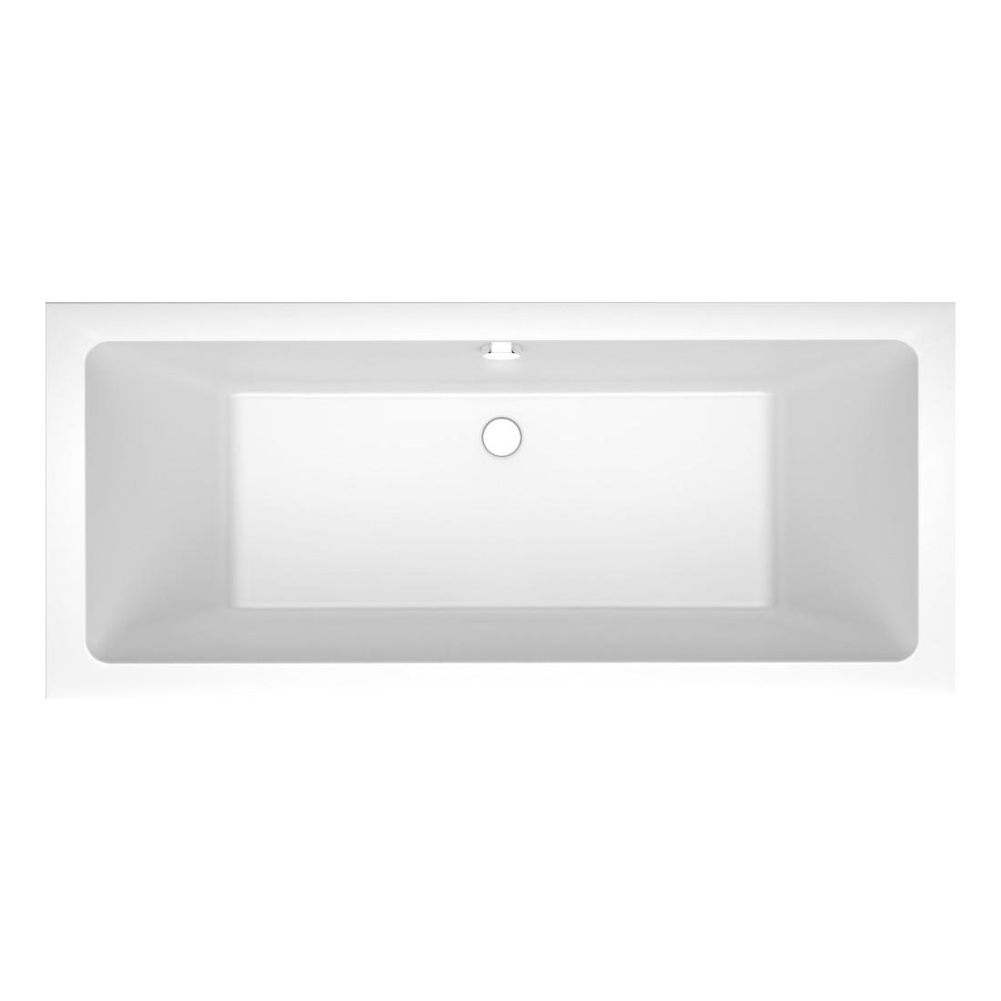 Akmens masės vonia Vispool Nordica, su paslėptomis kojytėmis, 160x75