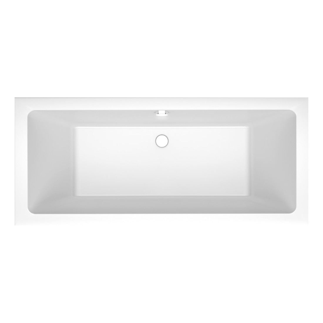 Akmens masės vonia Vispool Nordica, su matomomis kojytėmis, 170x75