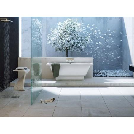 Akmens masės vonia Vispool Nordica, su matomomis kojytėmis, 160x75