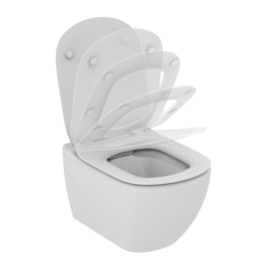 WC rėmo komplektas Grohe Rapid SL, su Ideal Standard Tesi Rimless ir soft-close dangčiu