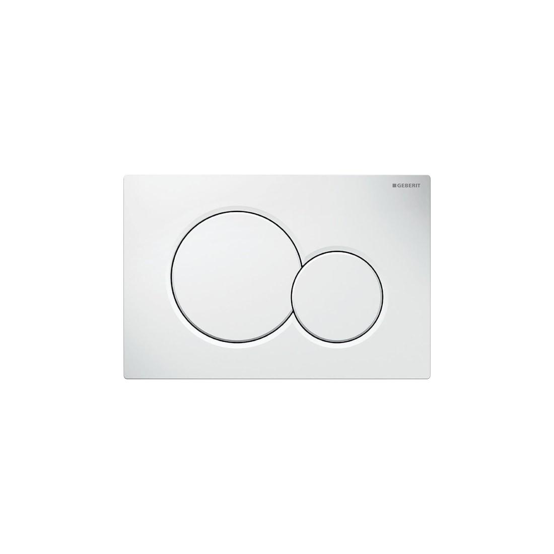 WC klavišas Geberit, Sigma 01, baltas