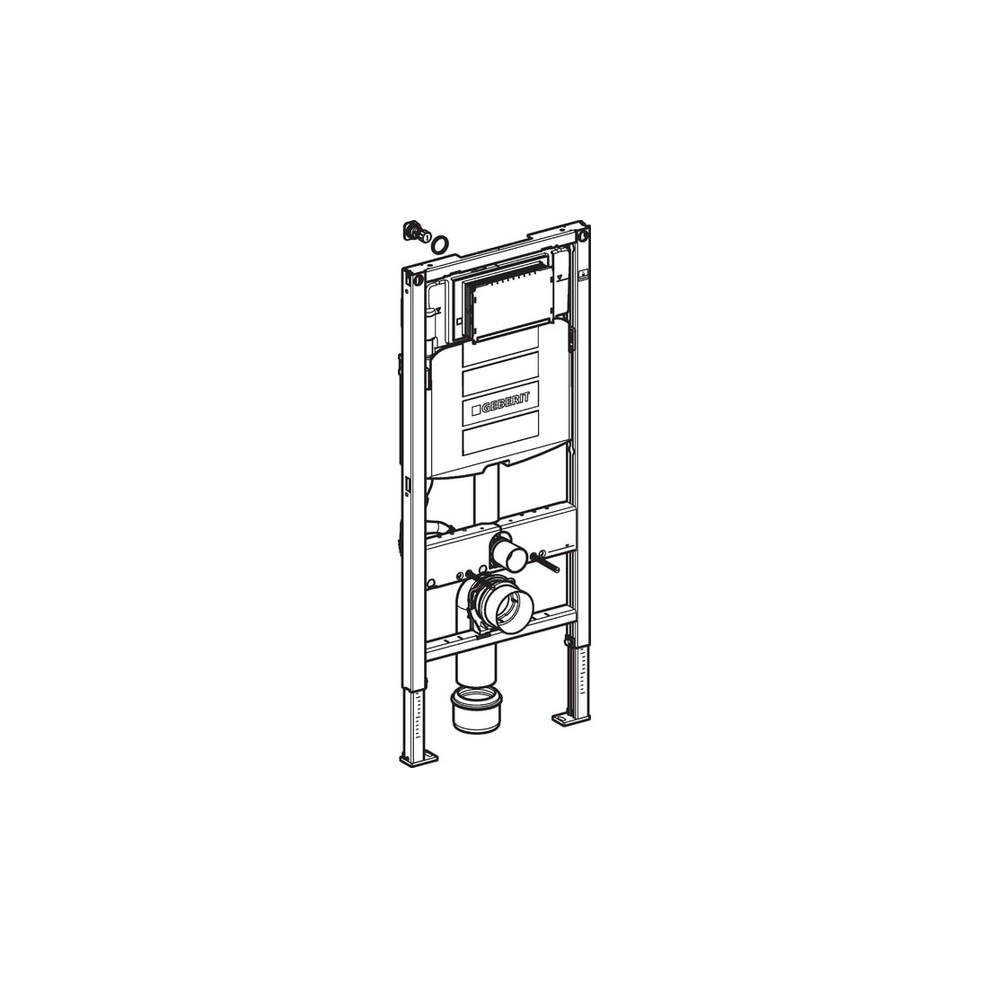 WC rėmas Geberit, Duofix UP320 Sigma