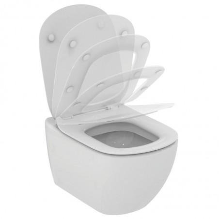 WC pakabinamas Ideal Standard Tesi, su paslėptais tvirtinimais