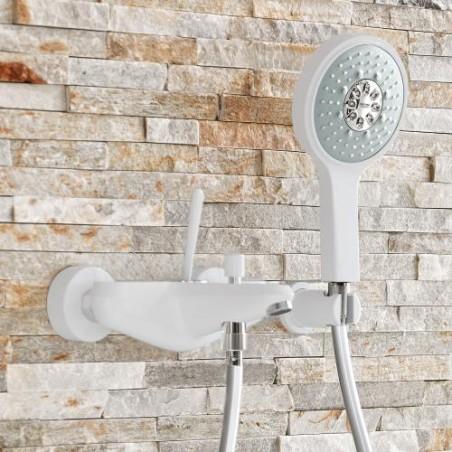 Vonios maišytuvas GROHE Eurodisc Joystick, Baltas