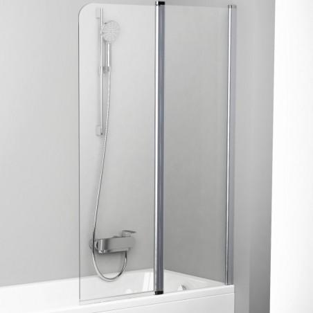 Vonios sienelė Ravak Chrome CVS2 100, dešinė, satin profilis