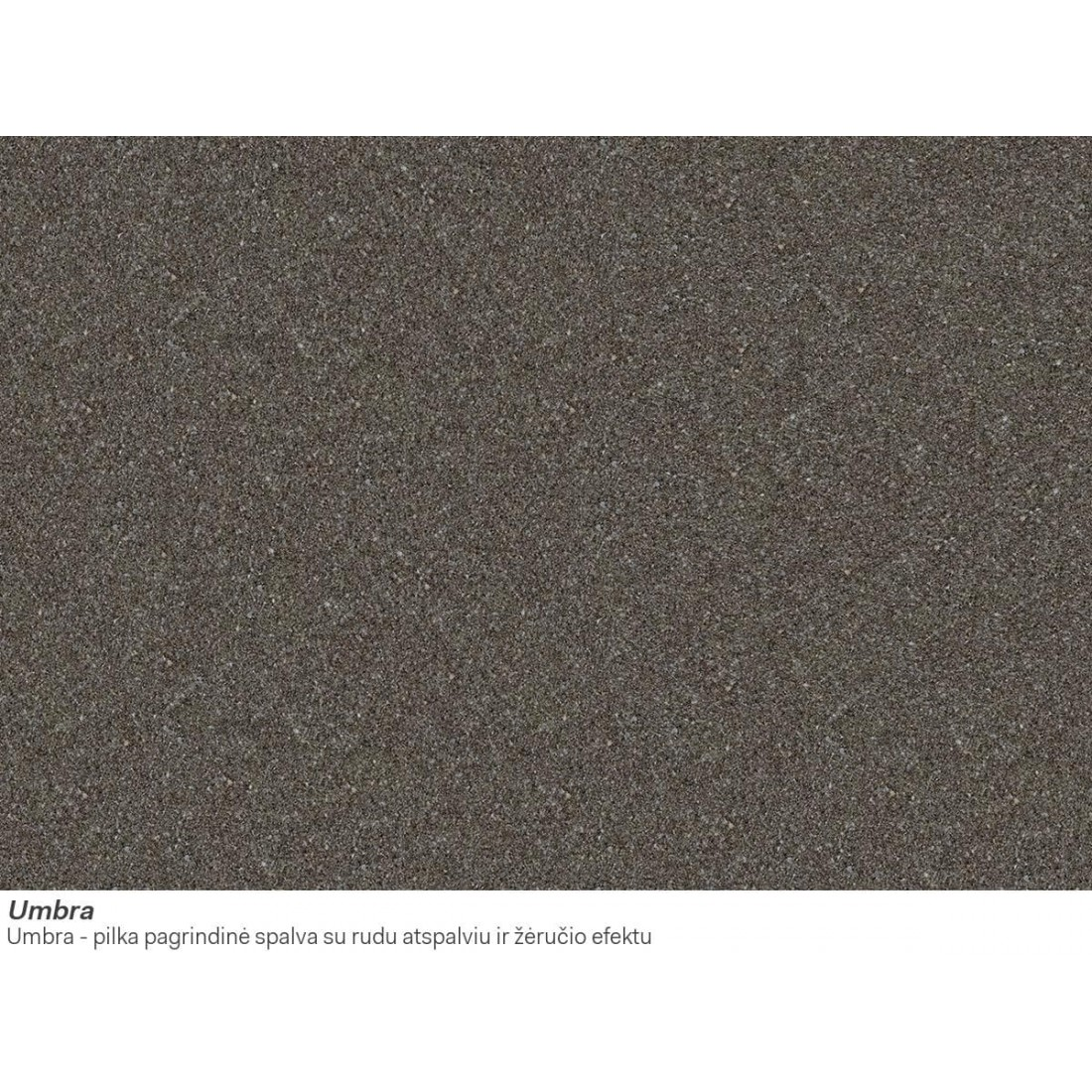 Akmens masės plautuvė Franke Mythos, MTG 611, Umbra, dubuo dešinėje