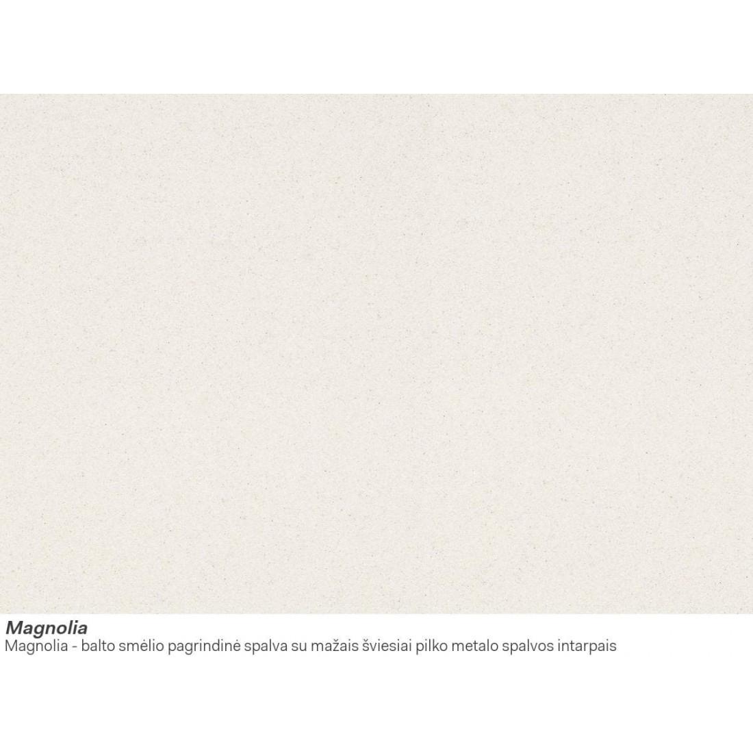 Akmens masės plautuvė Franke Mythos, MTG 611, Magnolia, dubuo dešinėje