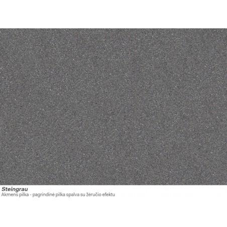 Akmens masės plautuvė Franke Kubus KBG 110-34, ekscentrinis ventilis, Steingrau