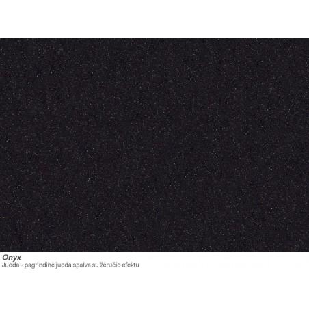 Akmens masės plautuvė Franke FX FXG 611-100, Onyx