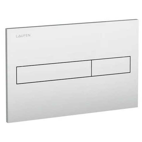 WC klavišas LIS Dual Flush, mat. chromas