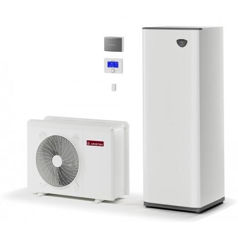 Šilumos siurblys Oras-Vanduo Ariston Nimbus, Compact, 70 S Net 11 kW, su integruotu 180 (177 l) vandens šildytuvu ir Wi-Fi