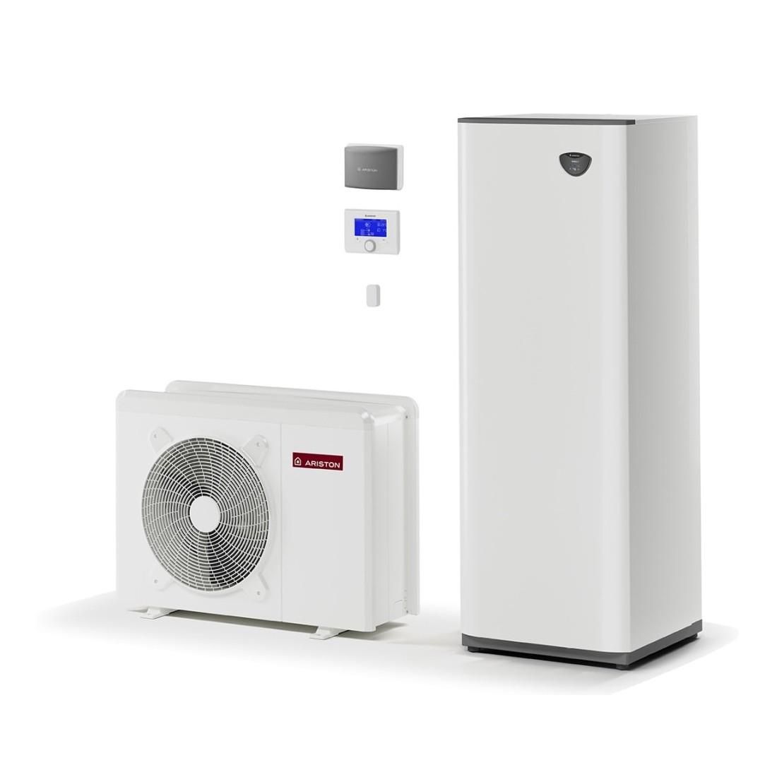 Šilumos siurblys Oras-Vanduo Ariston Nimbus, Compact, 70 S T Net 11 kW Φ3, su integruotu 180 (177 l) vandens šildytuvu ir Wi-